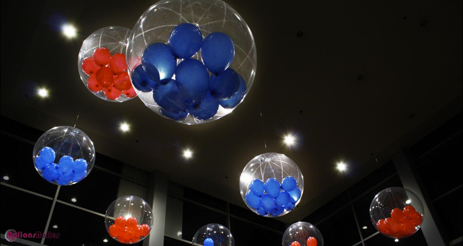 Bulles. Décoration De Ballons Noël